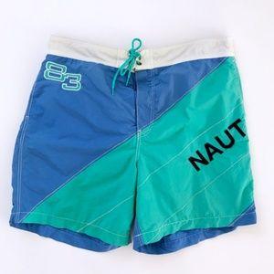 Nautica Vintage Men's Swim Trunks XL